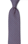 ECLISSI Red classic tie