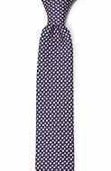 ECLISSI Red skinny tie