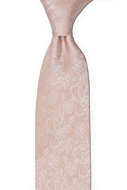 EVERAFTER Blush pink classic tie