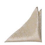 EVERAFTER Champagne gold pocket square