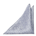 EVERAFTER Dusty blue pocket square