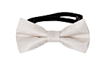 EVERAFTER Ivory baby bow tie