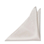 EVERAFTER Ivory pocket square