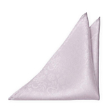 EVERAFTER Pale purple pocket square