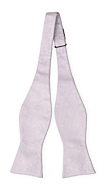 EVERAFTER Pale purple self-tie bow tie