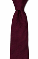 GRENADINE Burgundy red classic tie