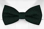 GRENADINE Forest green pre-tied bow tie