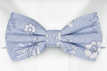 ICEMAIDEN Blue pre-tied bow tie
