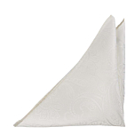 FLOTT WHITE pocket square