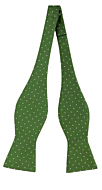 GRONGOLING GREEN self-tie bow tie