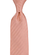 JAGGED Dusty pink classic tie