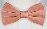JAGGED Dusty pink pre-tied bow tie