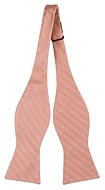 JAGGED Dusty pink self-tie bow tie