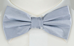 SOLID Baby blue boy's bow tie