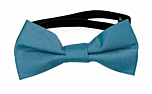 SOLID Dark turquoise baby bow tie