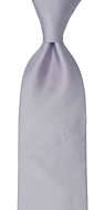 SOLID Powder purple classic tie