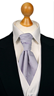 SOLID Powder purple cravat