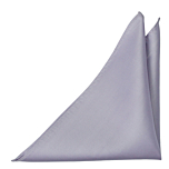 SOLID Powder purple pocket square