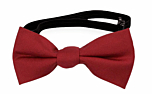 SOLID Red baby bow tie