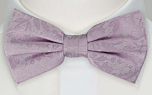 VIGSEL Pale purple boy's bow tie