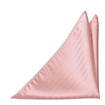 JAGGED Blush pink pocket square