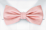 JAGGED Blush pink boy's bow tie