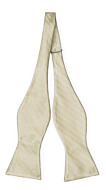 JAGGED Sage green self-tie bow tie