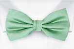 JAGGED Seafoam turquoise pre-tied bow tie