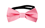 JAGGED Warm pink baby bow tie