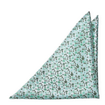 JAIMALA Dusty mint pocket square