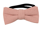 MOREAMORE Vintage pink baby bow tie