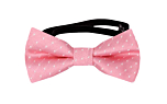 RICESPRINKLER Pink baby bow tie