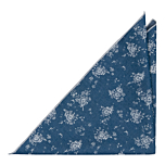 ROCKART Blue pocket square