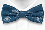 ROCKART Blue boy's bow tie