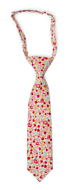 ROSERIDDLER Pink boy's tie small pre-tied