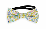 ROSERIDDLER Turquoise baby bow tie