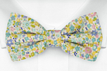 ROSERIDDLER Turquoise pre-tied bow tie