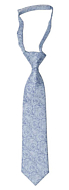 SCROLLER Light blue boy's tie small pre-tied