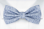 SCROLLER Light blue boy's bow tie
