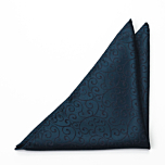 SNAZZY Dark blue pocket square