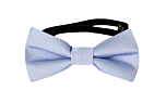 SOLID Ice blue baby bow tie