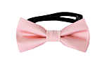 SOLID Pale pink baby bow tie