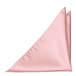 SOLID Pale pink pocket square