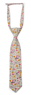 SUNLIT Pink boy's tie small pre-tied