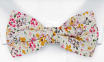 SUNLIT Pink pre-tied bow tie
