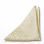 SWANKY Champagne pocket square