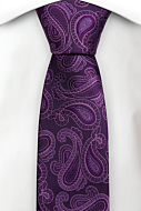 SWINGPJATT PURPLE skinny tie