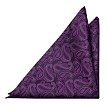 SWINGPJATT PURPLE pocket square