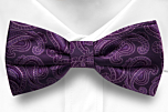 SWINGPJATT PURPLE boy's bow tie