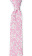THUMBELINA Pink boy's tie medium